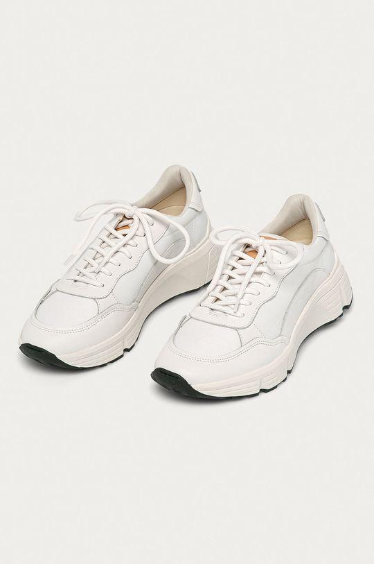 Vagabond - Topánky Quincy biela