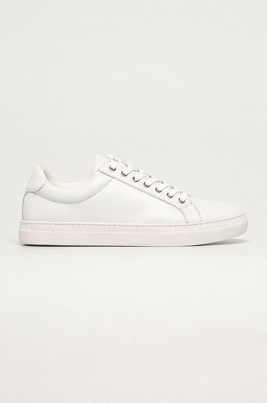 biela Vagabond - Kožená obuv Paul Pánsky