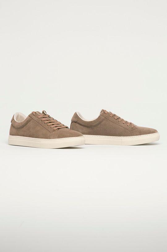 Vagabond - Pantofi de piele intoarsa Paul cafea