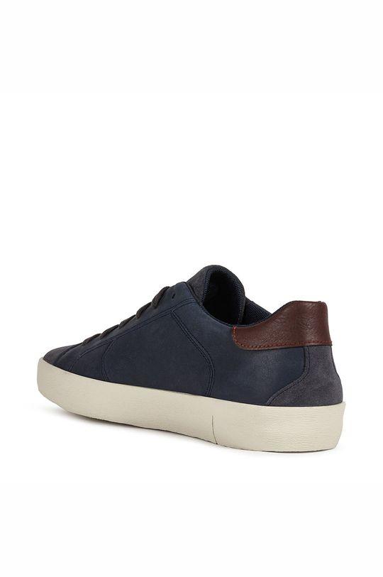 námořnická modř Geox - Kožené boty WARLEY