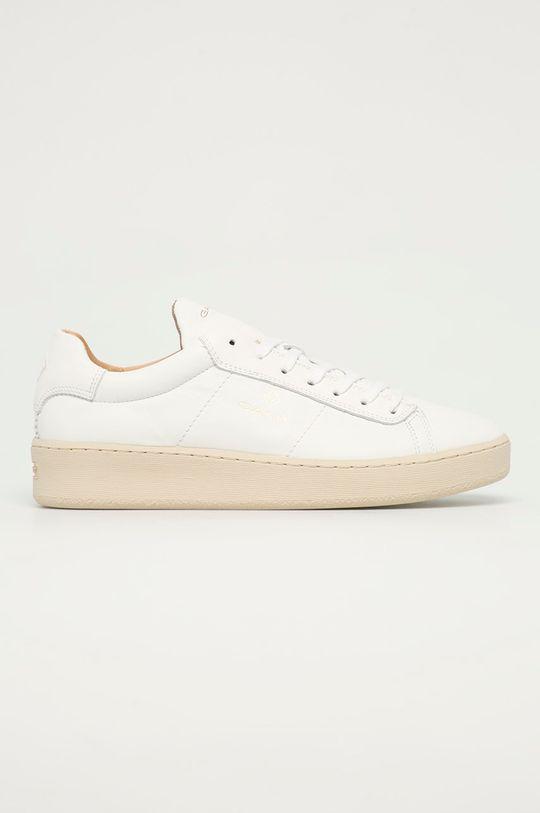 bílá Gant - Kožené boty Leville Pánský