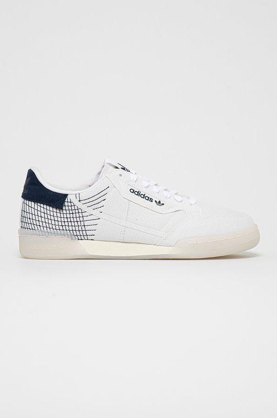 biały Adidas Originals - Buty Continental Męski