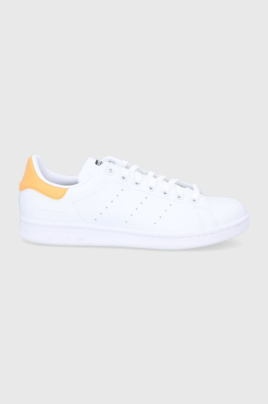 biały adidas Originals - Buty Stan Smith Męski
