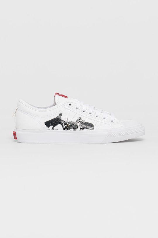 biały adidas Originals - Tenisówki Nizza x Star Wars Męski