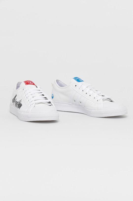 adidas Originals - Tenisówki Nizza x Star Wars biały