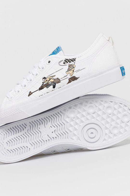 biały adidas Originals - Tenisówki Nizza x Star Wars
