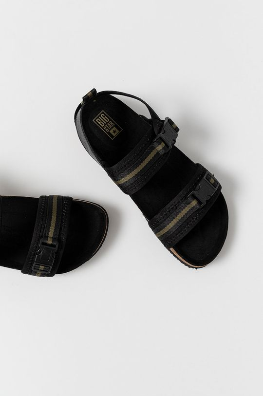 czarny Big Star - Sandały