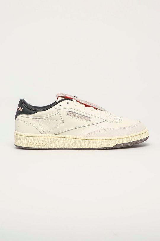bílá Reebok Classic - Kožené boty Club C 85 Pánský