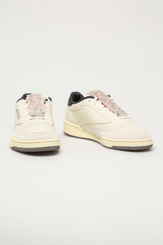 Reebok Classic - Kožené boty Club C 85 bílá