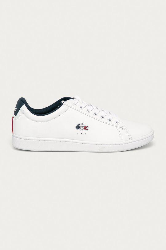 bílá Lacoste - Kožené boty Carnaby Evo TRI1 Pánský