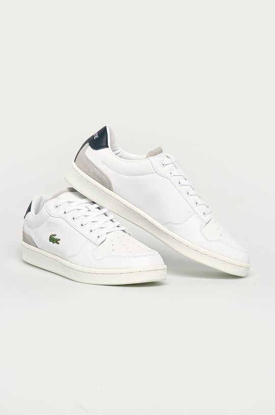Lacoste - Topánky Master Cup biela