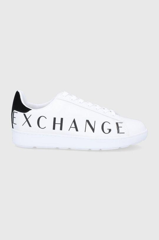 biały Armani Exchange - Buty Męski
