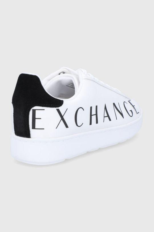 Armani Exchange - Buty Materiał syntetyczny, Materiał tekstylny, Skóra naturalna, Wnętrze: Materiał syntetyczny, Materiał tekstylny, Podeszwa: Materiał syntetyczny
