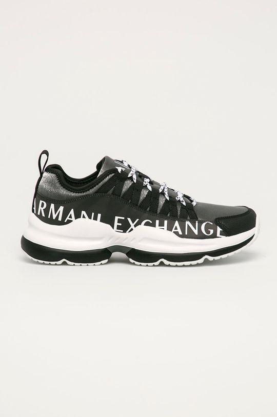 černá Armani Exchange - Boty Pánský