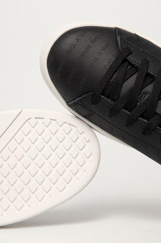 černá Diesel - Kožené boty