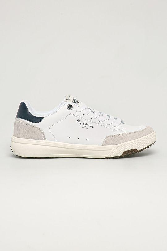 biały Pepe Jeans - Buty skórzane Slate Pro Basic Męski