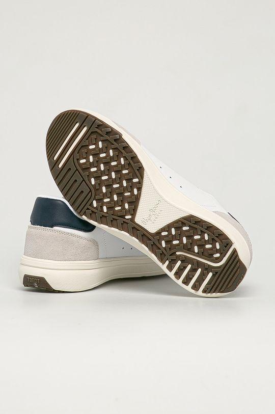 Pepe Jeans - Buty skórzane Slate Pro Basic Cholewka: Skóra naturalna, Wnętrze: Materiał tekstylny, Podeszwa: Materiał syntetyczny