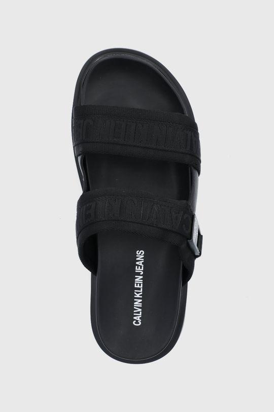 čierna Calvin Klein Jeans - Šľapky