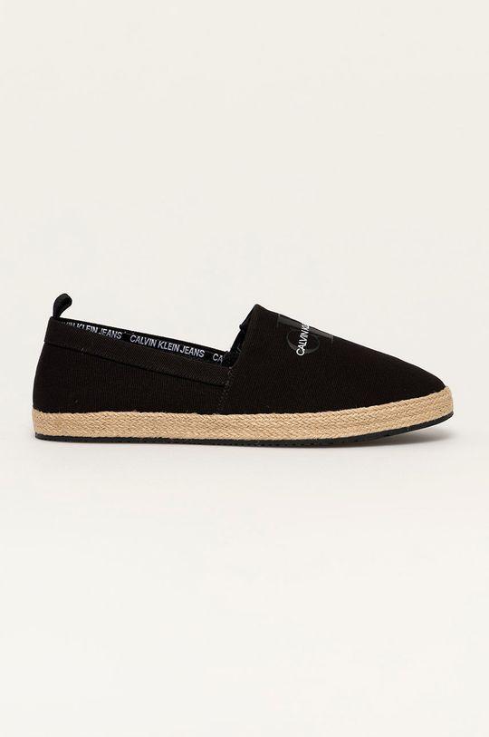 černá Calvin Klein Jeans - Espadrilky Pánský