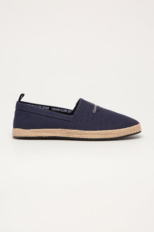 tmavomodrá Calvin Klein Jeans - Espadrilky Pánsky