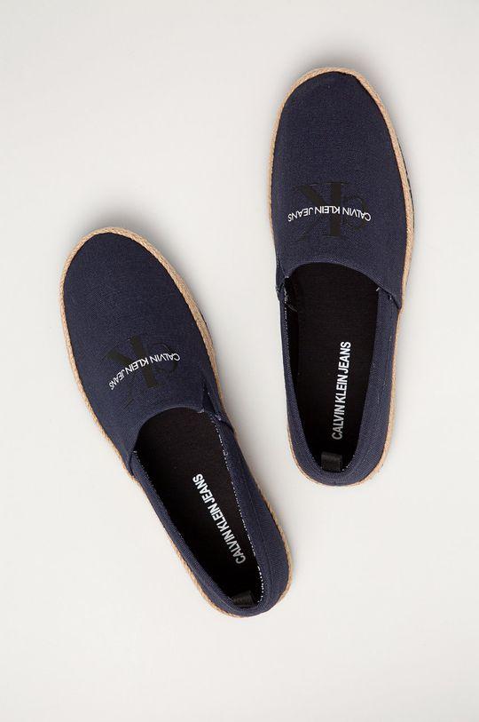 tmavomodrá Calvin Klein Jeans - Espadrilky