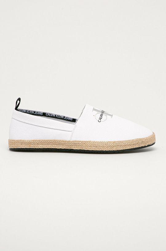 biela Calvin Klein Jeans - Espadrilky Pánsky