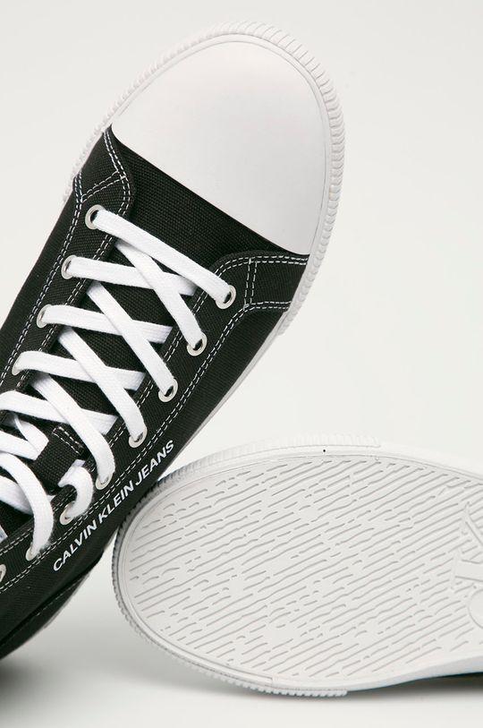 czarny Calvin Klein Jeans - Trampki