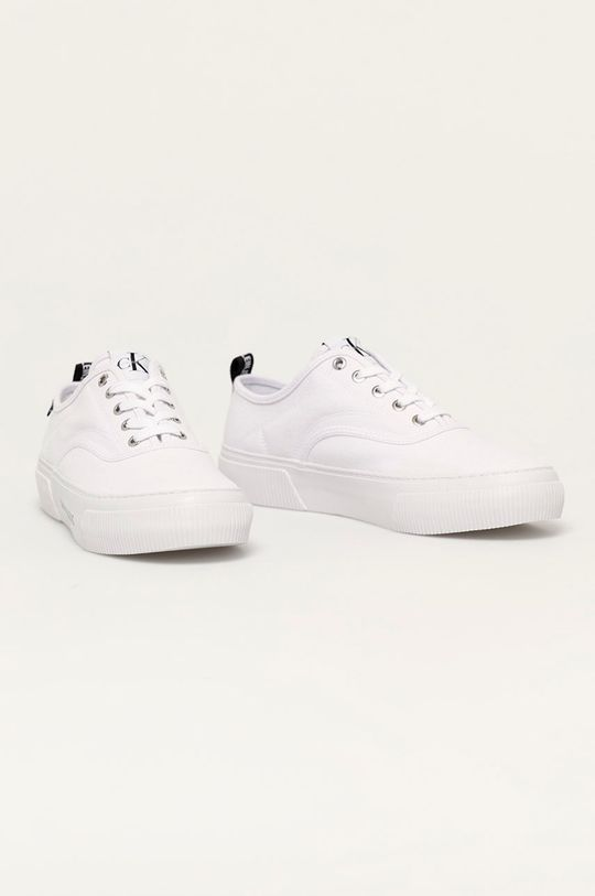 Calvin Klein Jeans - Tenisky biela
