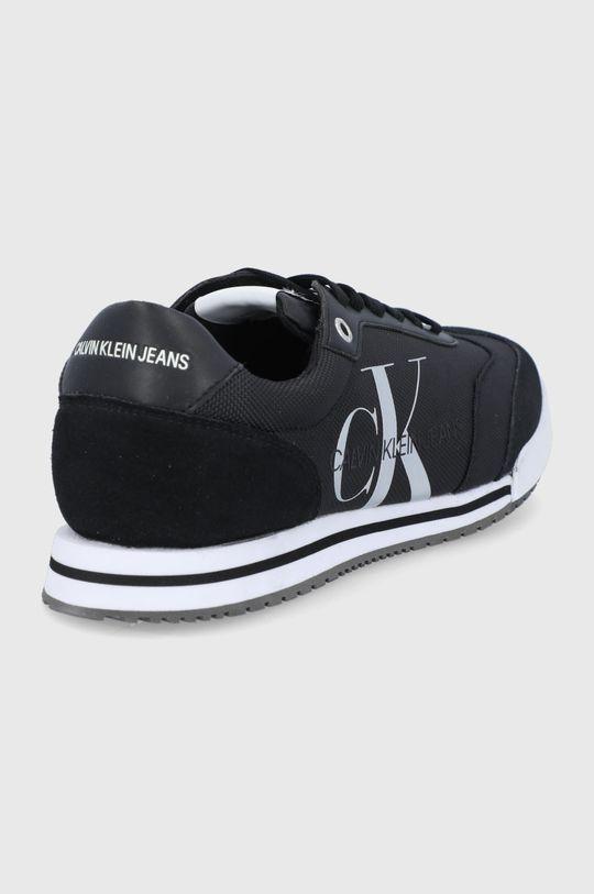 Calvin Klein Jeans - Topánky  Zvršok: Textil, Prírodná koža Vnútro: Textil Podrážka: Syntetická látka