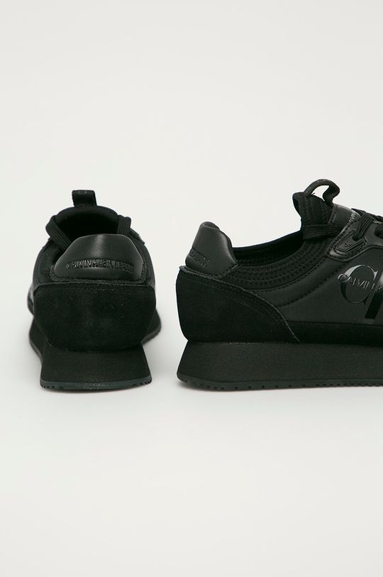 Calvin Klein Jeans - Topánky  Zvršok: Syntetická látka, Textil, Semišová koža Vnútro: Textil Podrážka: Syntetická látka