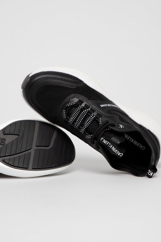 čierna Calvin Klein Jeans - Topánky