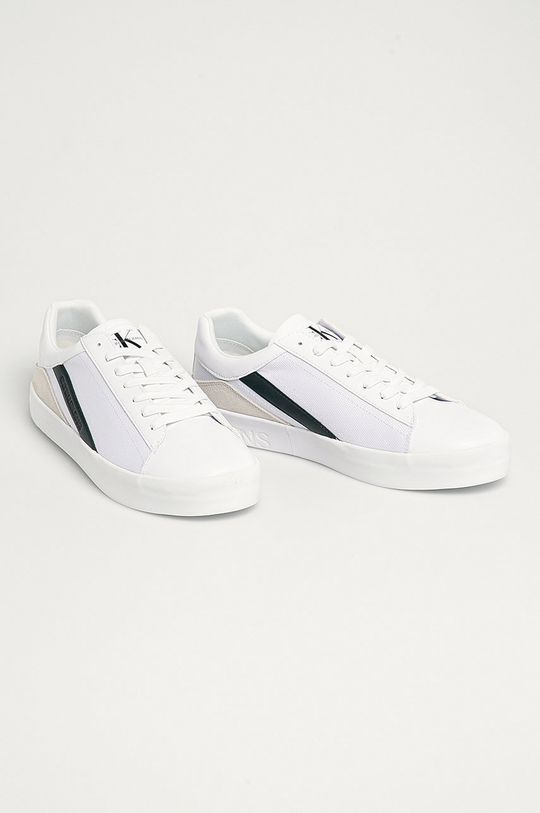 Calvin Klein Jeans - Pantofi alb