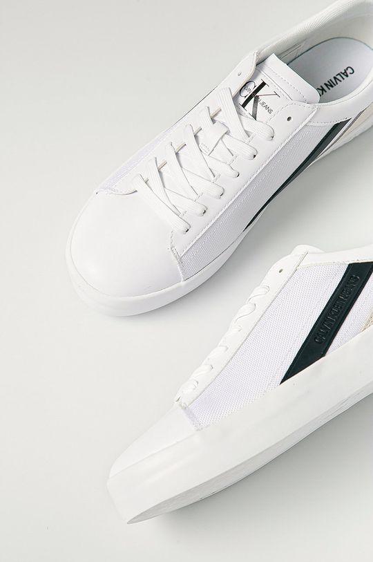 alb Calvin Klein Jeans - Pantofi