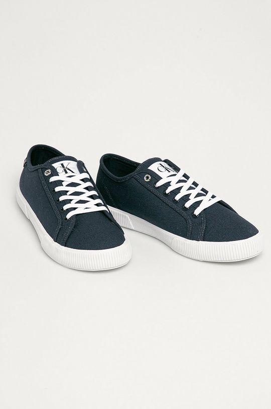 Calvin Klein Jeans - Tenisky tmavomodrá