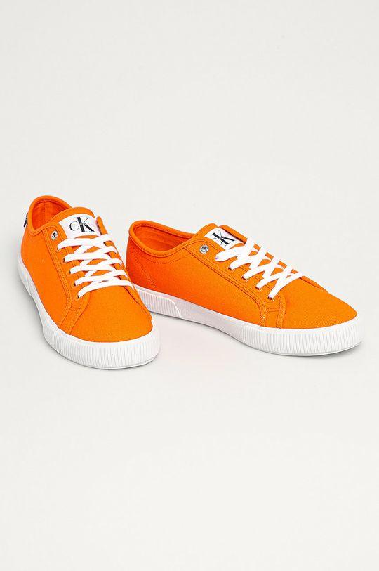 Calvin Klein Jeans - Pantofi portocaliu