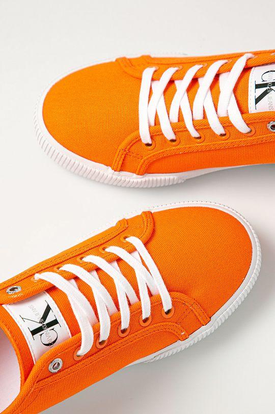 portocaliu Calvin Klein Jeans - Pantofi