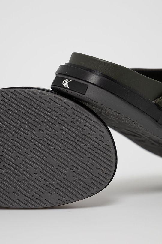 Calvin Klein Jeans - Klapki Cholewka: Materiał tekstylny, Wnętrze: Materiał tekstylny, Podeszwa: Materiał syntetyczny