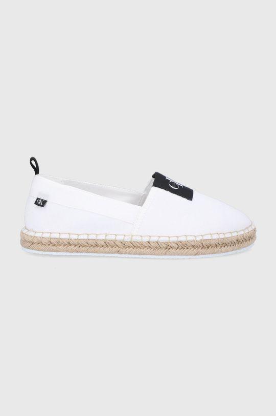biały Calvin Klein Jeans - Espadryle Męski