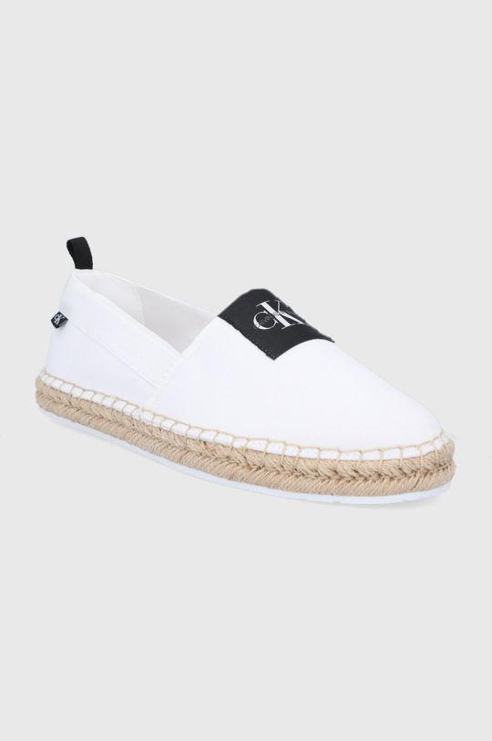 Calvin Klein Jeans - Espadryle biały