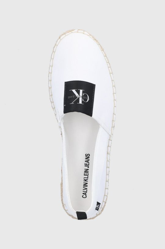 biały Calvin Klein Jeans - Espadryle