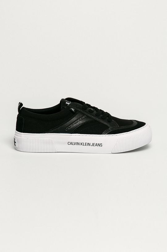 čierna Calvin Klein Jeans - Tenisky Pánsky