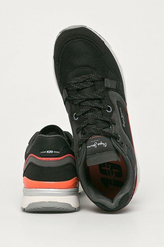 Pepe Jeans - Buty X20 Runner Cholewka: Materiał syntetyczny, Materiał tekstylny, Wnętrze: Materiał tekstylny, Podeszwa: Materiał syntetyczny