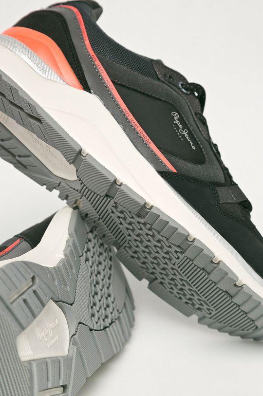 czarny Pepe Jeans - Buty X20 Runner