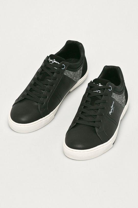 Pepe Jeans - Boty Rodney černá