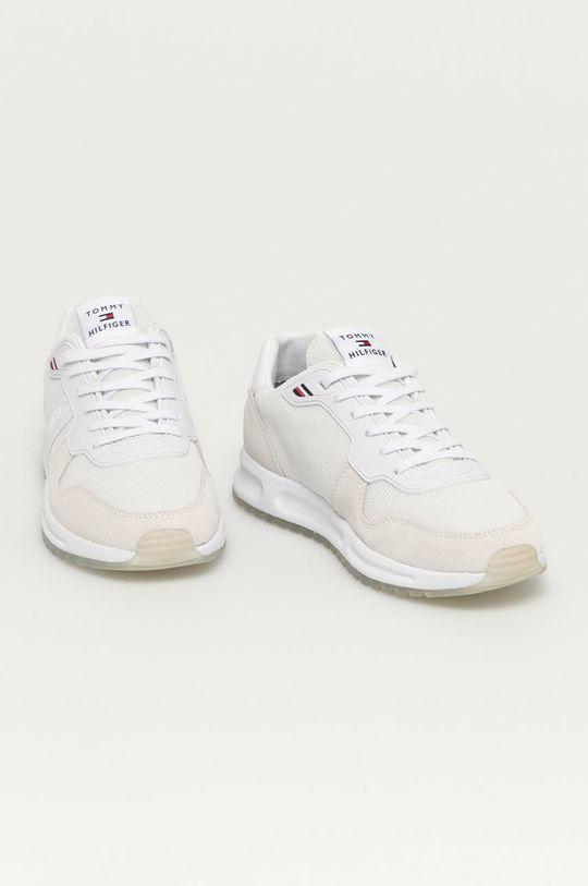 Tommy Hilfiger - Topánky biela