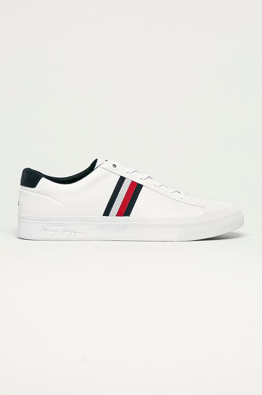 bílá Tommy Hilfiger - Kožené boty Pánský