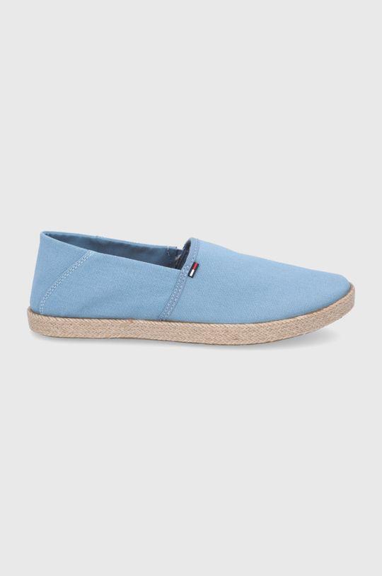 světle modrá Tommy Jeans - Espadrilky Pánský