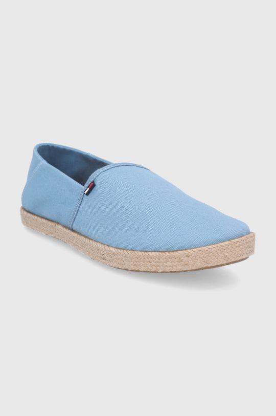Tommy Jeans - Espadrilky světle modrá