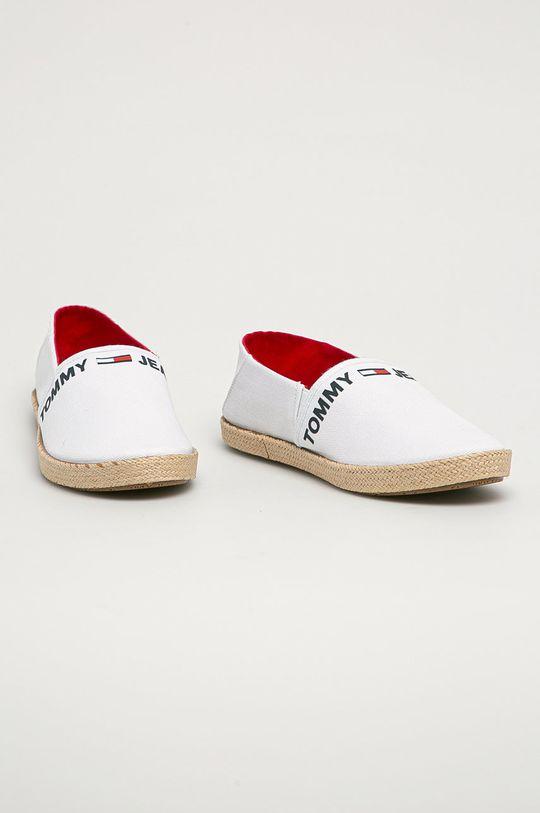 Tommy Jeans - Espadrilky bílá