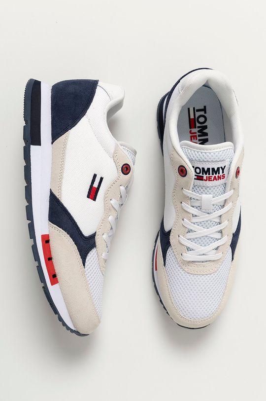 biela Tommy Jeans - Topánky
